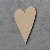 Heart 05 Blank Craft Shapes