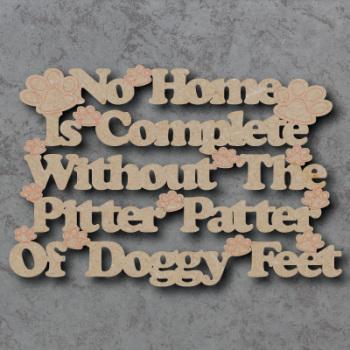 Pitter Patter Dog Sign
