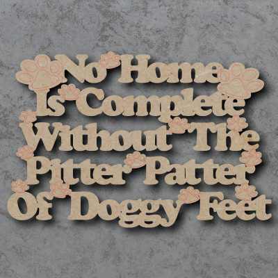 Pitter Patter Dog Sign