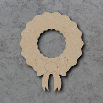 Wreath Detailed Craft Shapes
