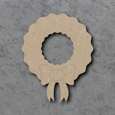 Wreath Craft Shapes