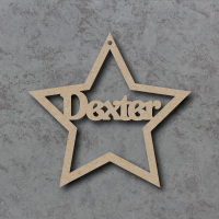 Personalised Star Bauble