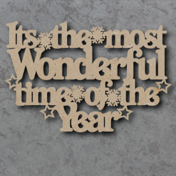 Its The Most Wonderful Time Of the Year Craft Sign