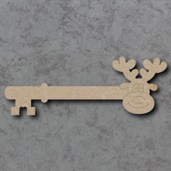 Reindeer Key Detailed Craft Shapes