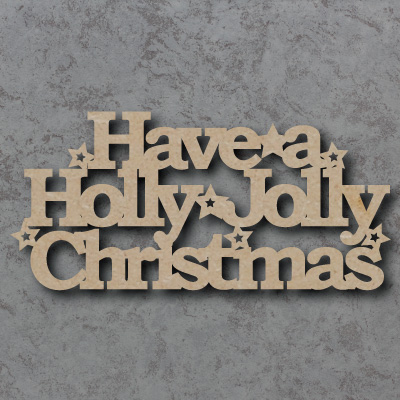 Have a Holly Jolly Christmas Craft Sign