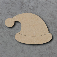 Santa Hat Blank Craft Shapes