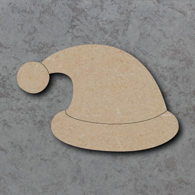 Santa Hat Craft Shapes