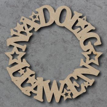Nadolig Llawen Wreath
