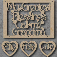 My Greatest Blessings call me - Large