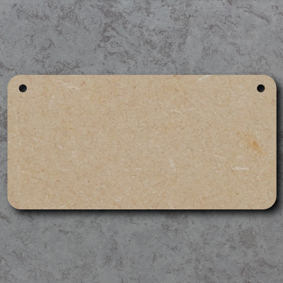 Blank Signs - Rounded Corners
