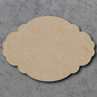 Plaque 01 - Oval