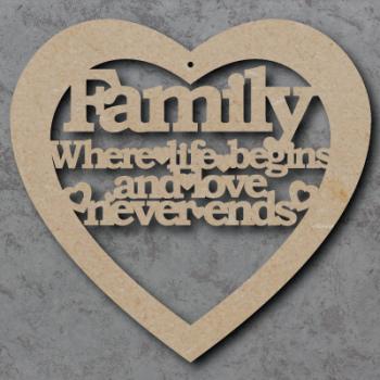 Family Heart Sign