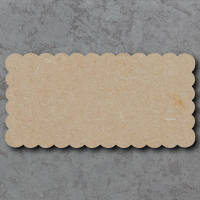 Plaque 03 - Scalloped Rectangle