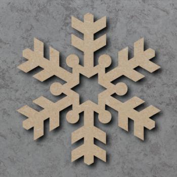 Snowflake 02 Blank Craft Shapes