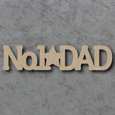 No.1 Dad Sign