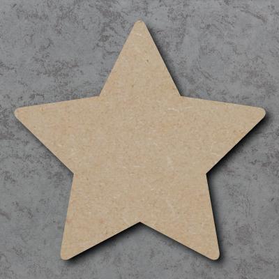 Star 01 - Round Corners Craft Shapes