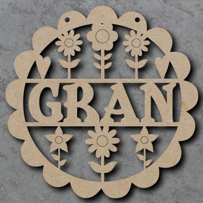 Gran Flower Sign