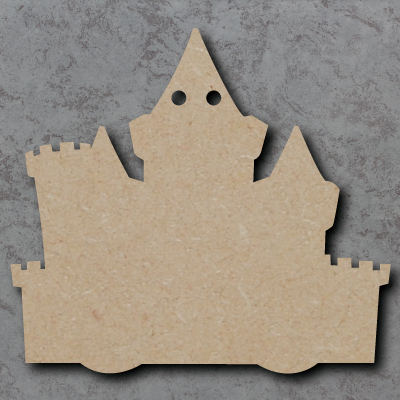 Castle Bunting mdf Shapes