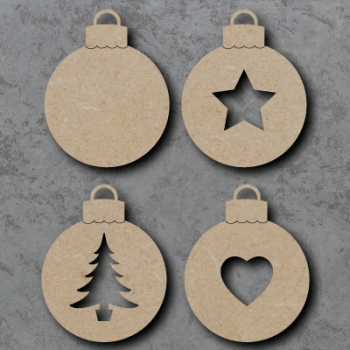 Bauble Craft Shapes