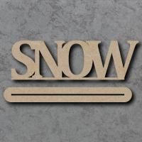 Snow Craft Sign