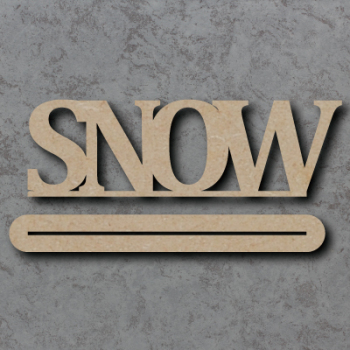 Snow Craft Sign