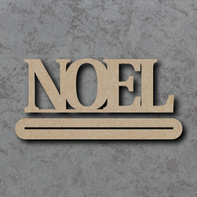 Noel Craft Sign