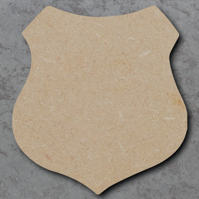 Shield Wooden Craft Shapes