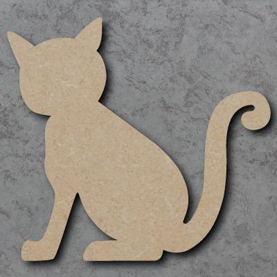Cat Wooden Craft Shapes