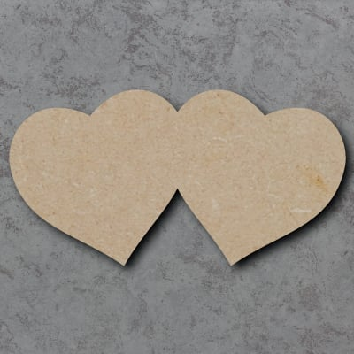 Hearts Joined Craft Shapes