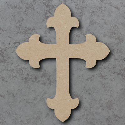Cross Wooden Craft Shapes
