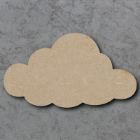 Cloud 01 Blank Craft Shapes