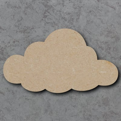 Cloud Wooden Craft Shapes