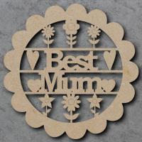 Best Mum Flower Sign