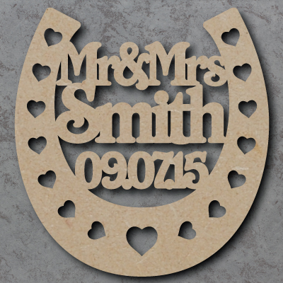 Personalised Horse Shoe