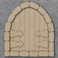Fairy Door C Craft Shapes