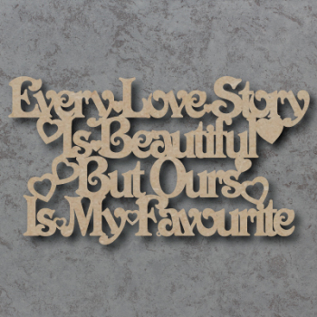 Every Love Story Sign B (Victorian)