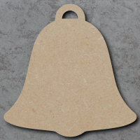 Bell Blank Craft Shapes