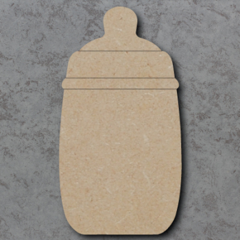 Baby Bottle Blank Craft Shapes