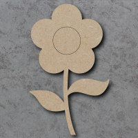 Flower 03 Blank Craft Shapes