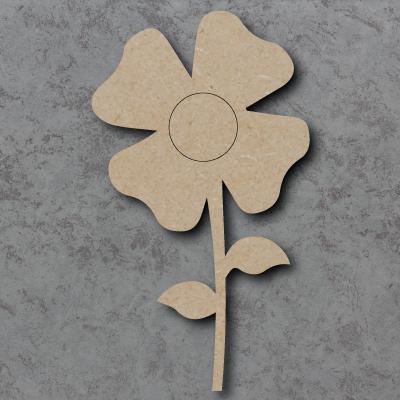 Flower Wooden Craft Shapes