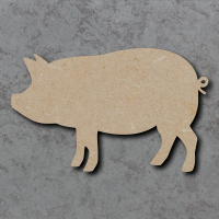 Pig Blank Craft Shapes