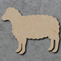 Sheep Blank Craft Shapes