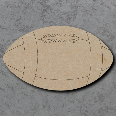 Rugby Ball Craft Shapes