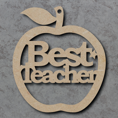 Best Teacher Apple Craft Shapes