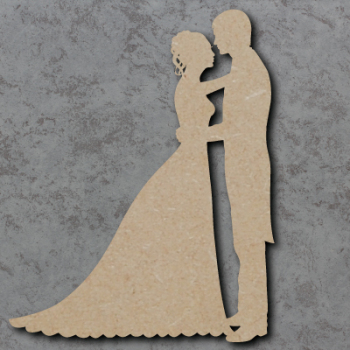 Wedding Couple A Blank Craft Shapes