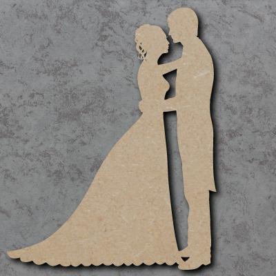 Wedding Couple mdf Shapes