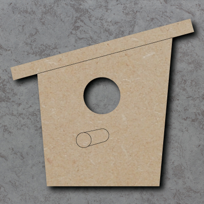 Bird Box Craft Shapes