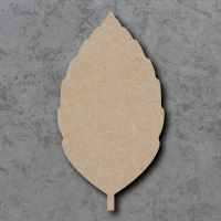 Leaf 02 Blank Craft Shapes