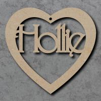 Heart Names - Fancy Font