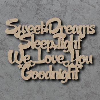 Sweet Dreams Sleep Tight Sign